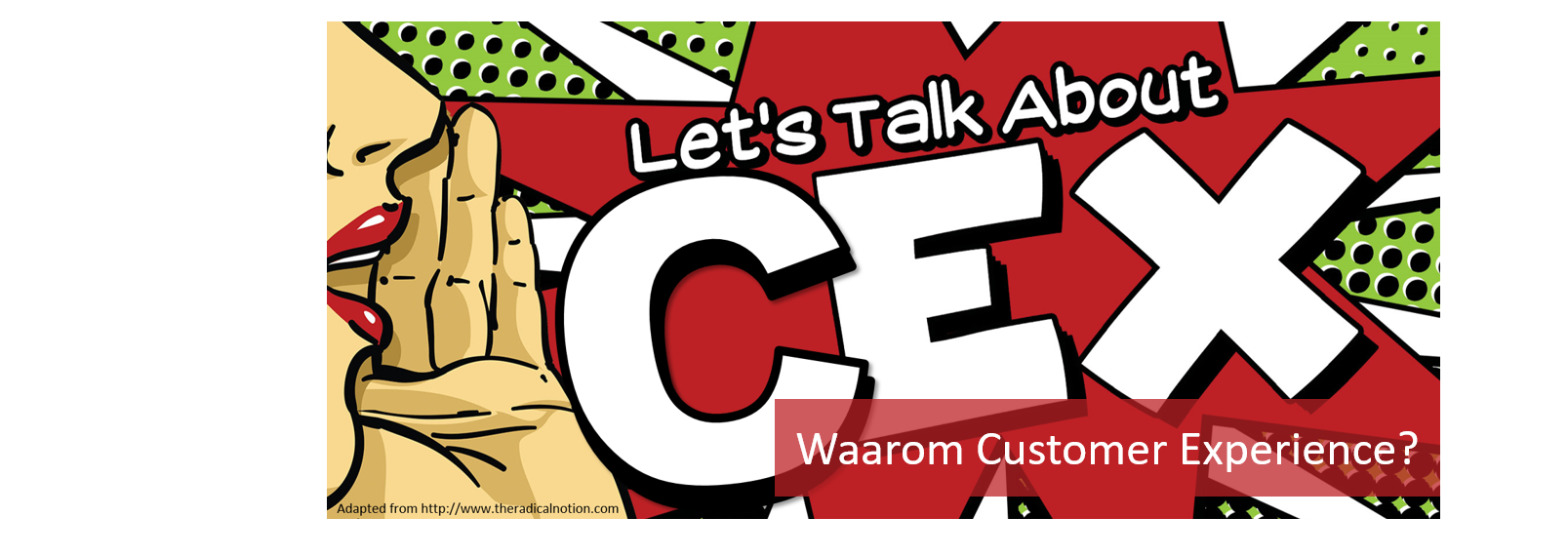 Let's talk about CEX (Customer Experience)
